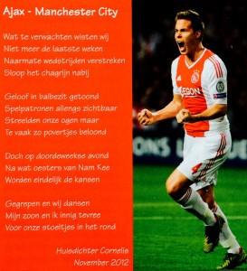 Ajax - Manchester City